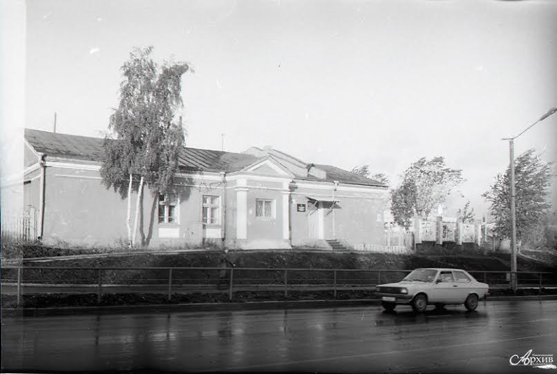 Карельская контора кинопроката. Построена в 1949 году, снесена в 2008 году
