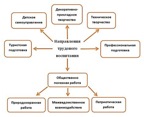 Направления трудовой подготовки