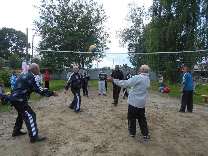 Волейбол в День открытых дверей