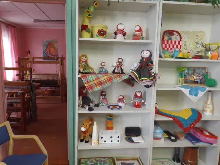 Вот такие игрушки делают жители интерната