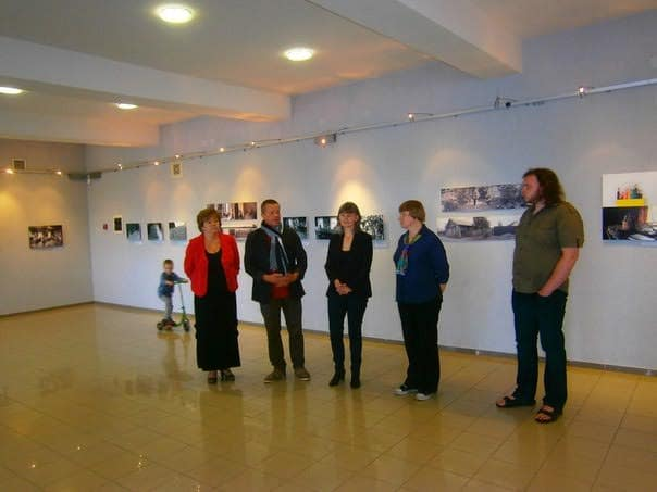 Открытие выставки «Мой дом везде» в Национальном театре РК