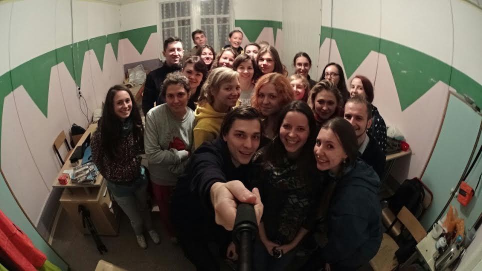 Слушатели лекции Летней школы «Русского репортера»