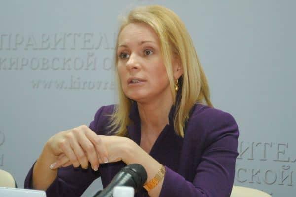 Первый замминистра образования и науки РФ Наталья Третьяк