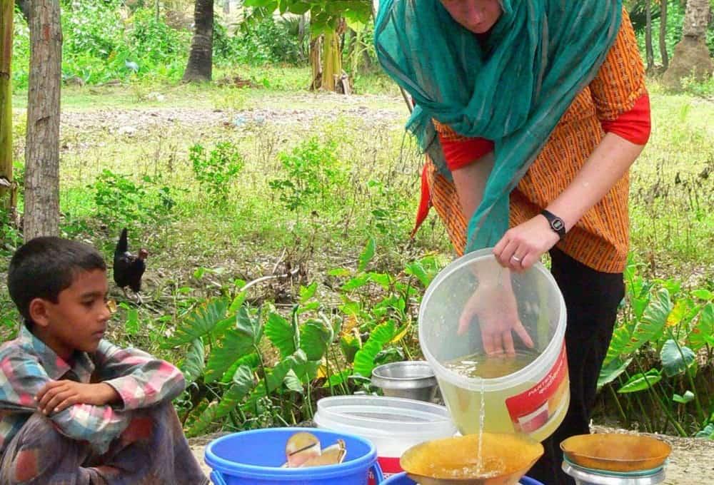 Создана «Питьевая книга» для очистки воды от бактерий