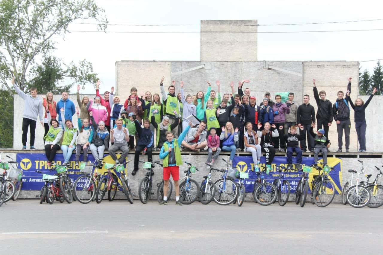 Самый протяжённый маршрут велоолимпиады прошёл в Олонце