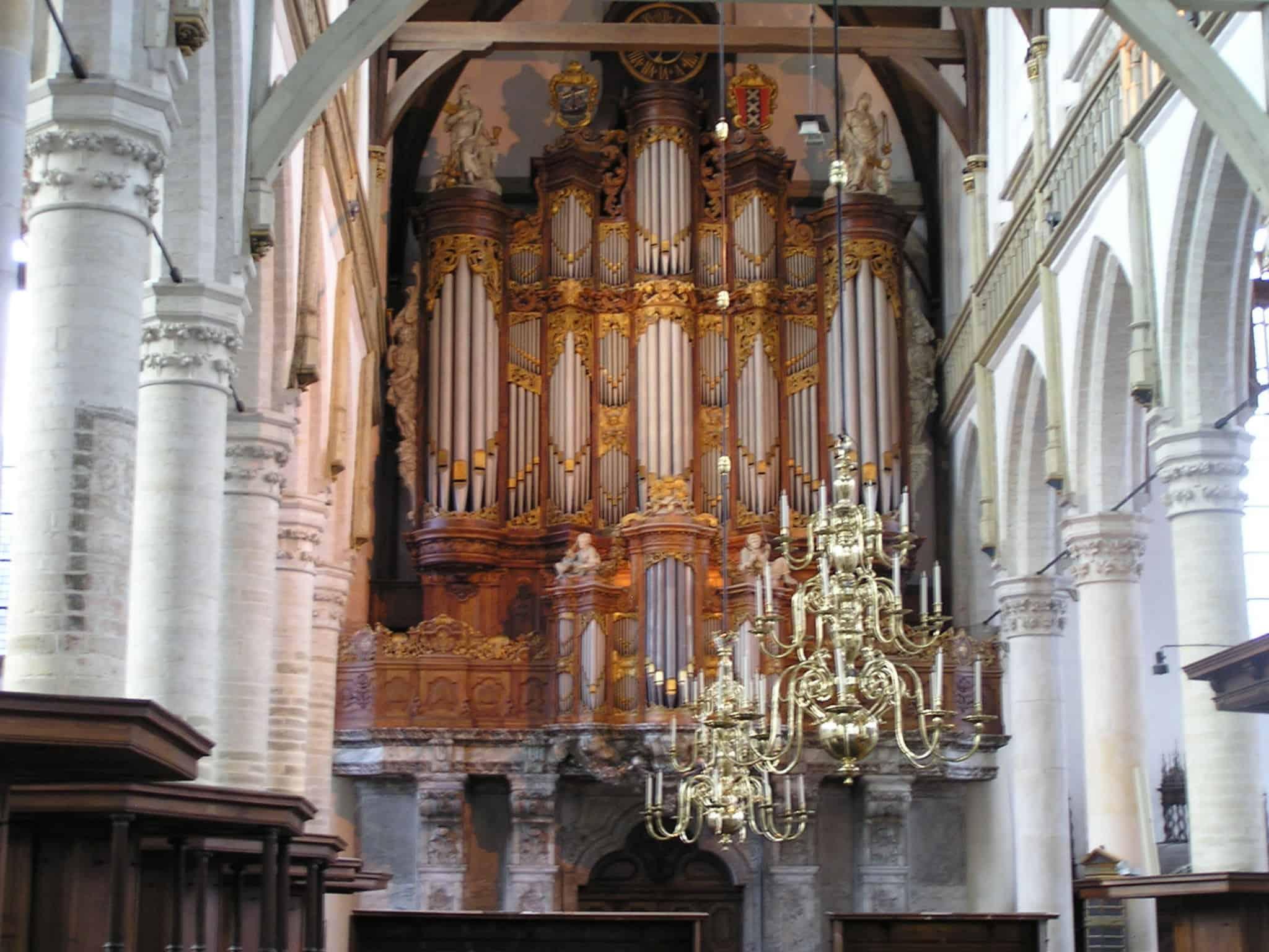 Eigenes Werk Orgel der Oude Kerk, Amsterdam