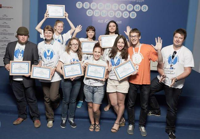 И все-таки всем из нашей восьмерки вручили сертификаты