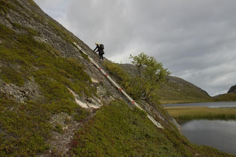 На пути в Бёк-фьорд
