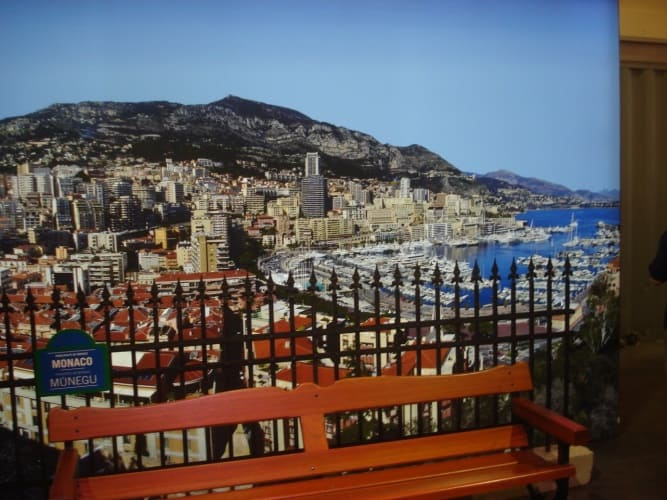 Павильон Монако. Фото авторов публикации