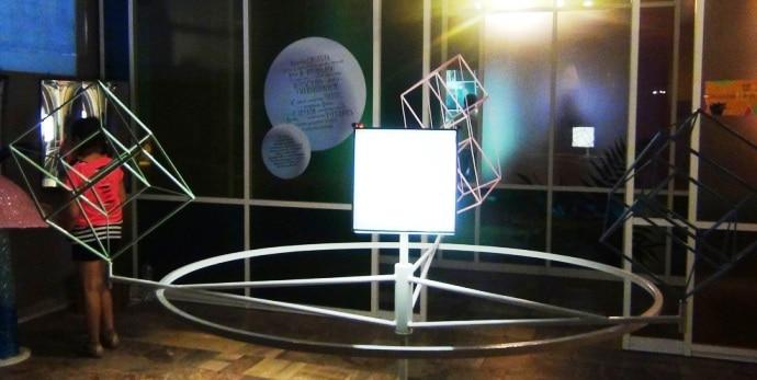 Трехмерные проекции четырехмерного куба