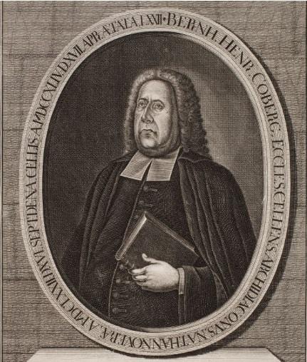сын Иоганна Коберга пастор