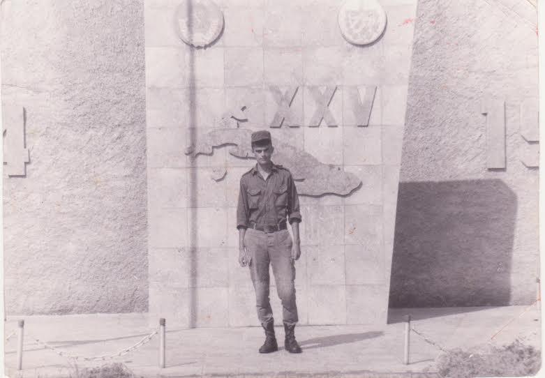 Владимир Захаров на Кубе, 90-е годы