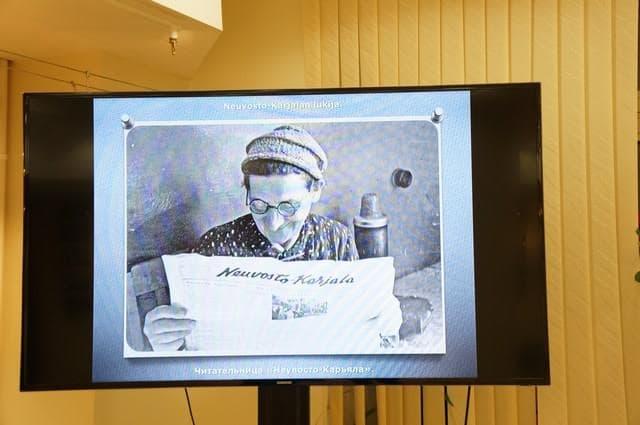 Слайд-фильм об истории газеты