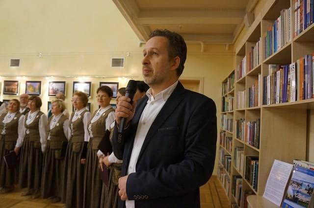 Главный редактор Karjalan Sanomat Михаил Незвицкий
