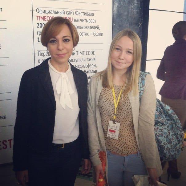 Марианна Максимовская и Юлия Бараева