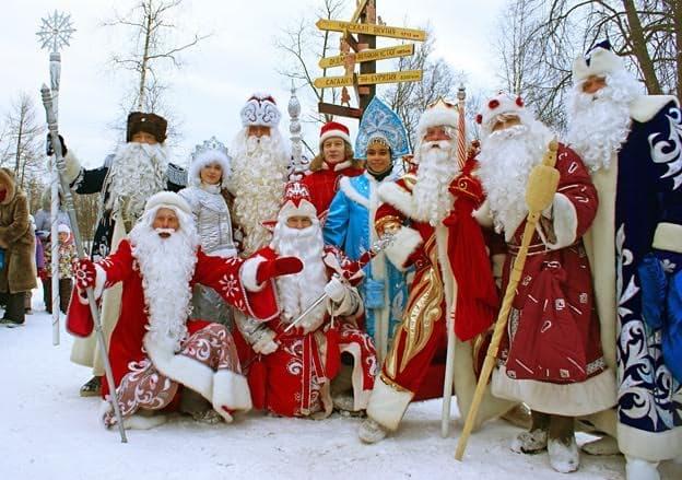 Олонецкие игры Дедов Морозов