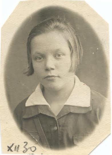 Паня Лобская (Барская). 1930 год
