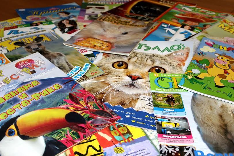 В Детской библиотеке Карелии стартует неделя журналов для детей и подростков
