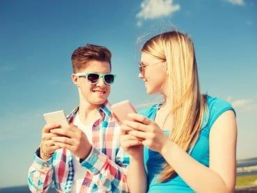 Электронная любовь современных подростков
