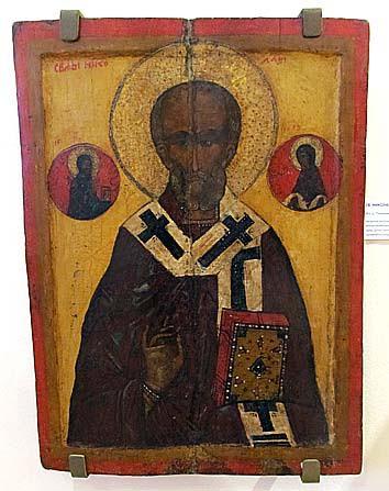 Св. Никола из дер. Типиницы. XVI век