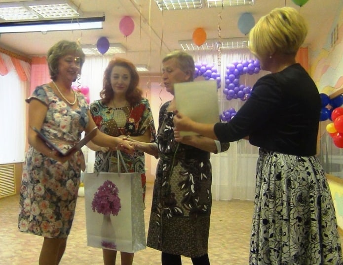 Грамота - Татьяне Алексеевна Кузнецовой