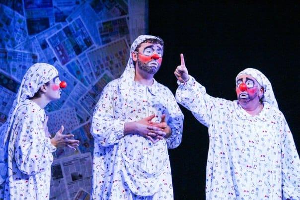 LunaticShow в театре Ad Liberum. Фото Веры Луговых