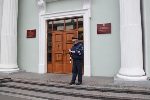 Акция профсоюзов в Петрозаводске. Фото Марии Голубевой