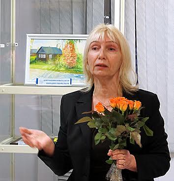 Выставка Ольги Печулайтене. Фото Валентины Чаженгиной