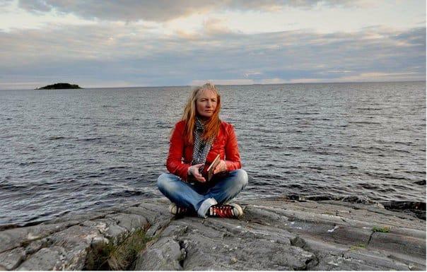 Анна Матасова. Фото из группы https://vk.com/national_library_rk