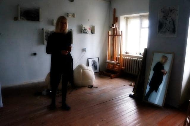 В мастерской Натальи Егоровой. Фото Ирины Ларионовой
