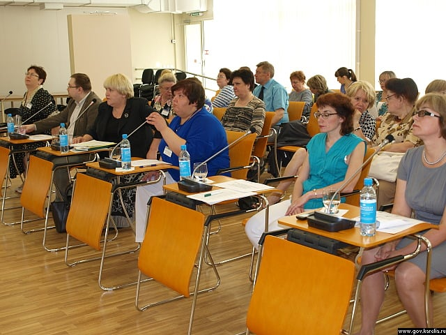 Оn-line презентация проекта концепции в Национальной библиотеке. Фото gov.karelia.ru