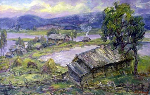 Борис Кукшиев. Дамба