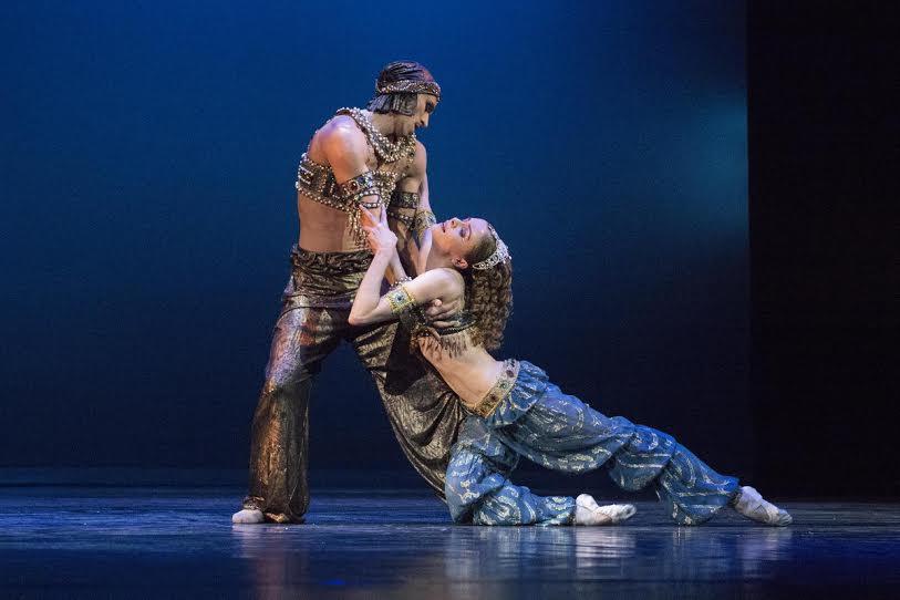 Адажио из балета «Шехерезада» Римского-Корсакова — Алевтина Мухортикова и Игорь Колб