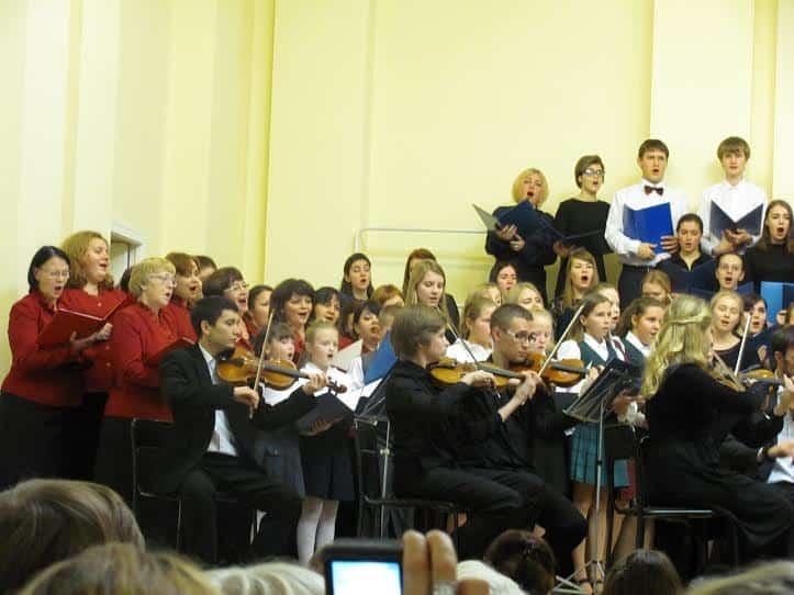 В Петрозаводском музыкальном колледже прошёл концерт «Голос неба вдохновенный»
