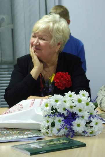 Нина Зайцева на презентации
