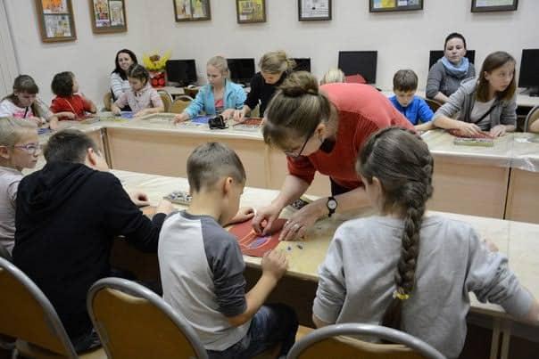Мастер-класс с художником Маргаритой Юфа