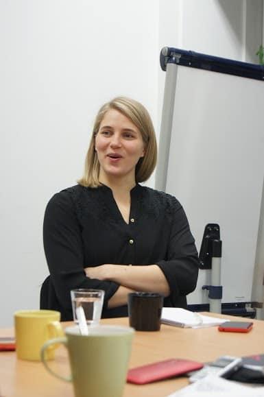 """Анна-Мария Пасанен:  """"Профессия и образование помогут беженцам выжить, прокормить семью, состояться  в жизни"""""""