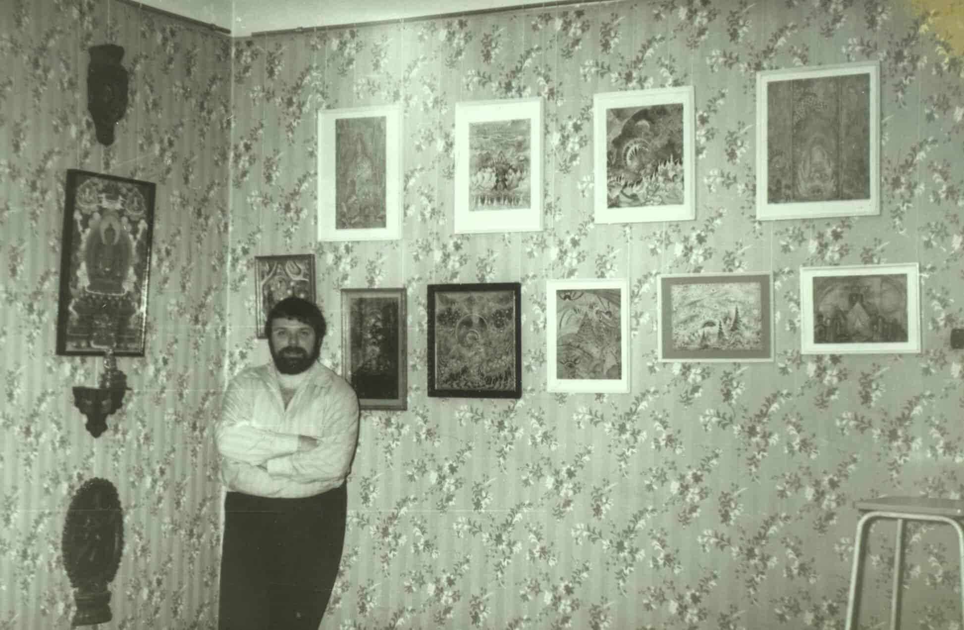 Квартира Ю. Линника. Начало коллекции. 1980-е годы