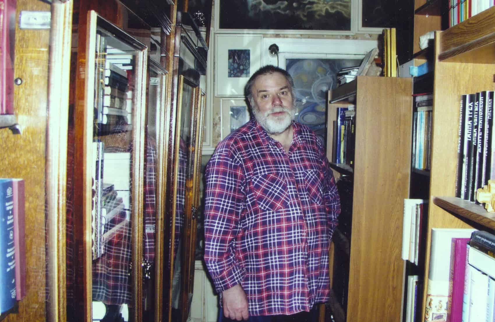 Лабиринты квартиры-музея Ю. Линника. 2000-е годы