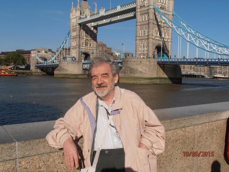 В Лондоне. Сентябрь  2015 года