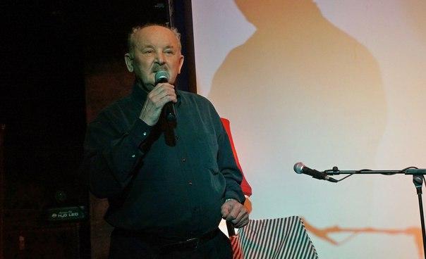 Лев Мальчуков на вечере Дмитрия Новикова