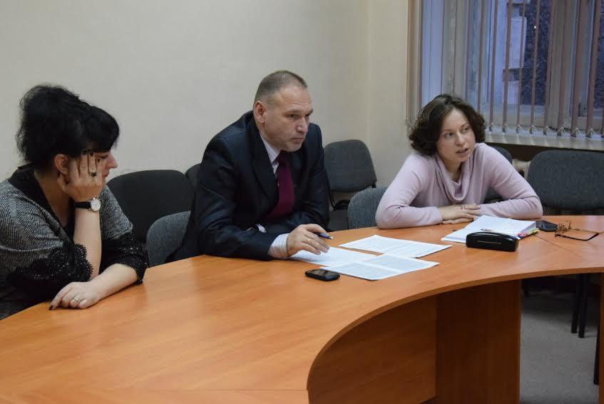 Слева направо  - Людмила Сулима, Геннадий Сараев и Мария Морозова