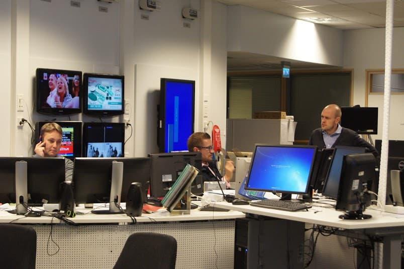 В телерадиовещательной компании Yle работают более трех тысяч журналистов