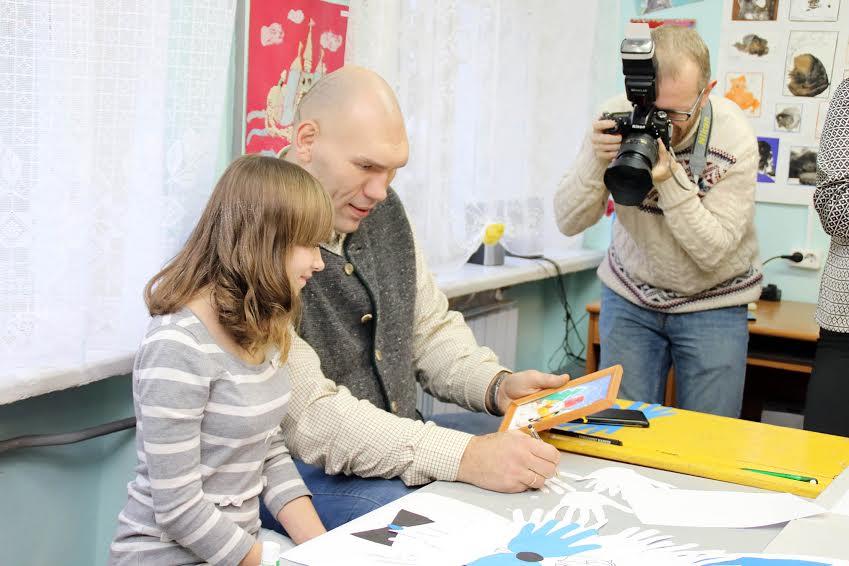 Николай Валуев в Олонецком детдоме