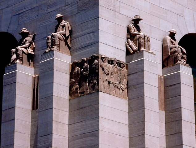 """ANZAC War Memorial 2002"" by Gene Poole. Licensed under CC BY-SA 3.0 via Commons - https://commons.wikimedia.org/wiki/File:ANZAC_War_Memorial_2002.jpg#/media/File:ANZAC_War_Memorial_2002.jpg"