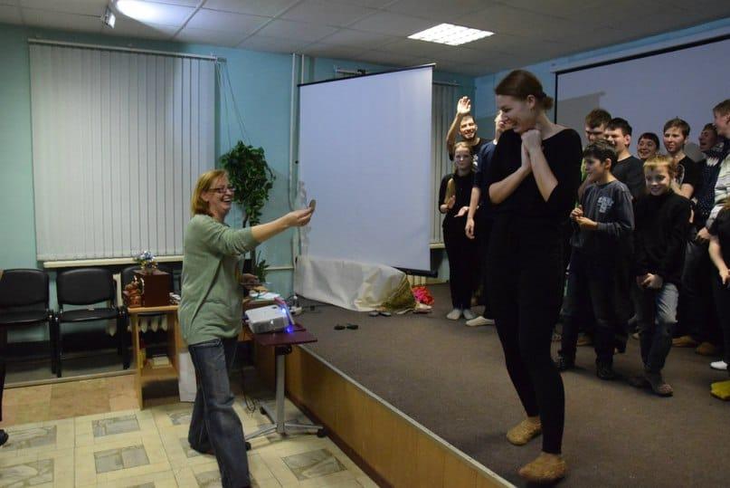 Светлана Начинова и ее воспитанники