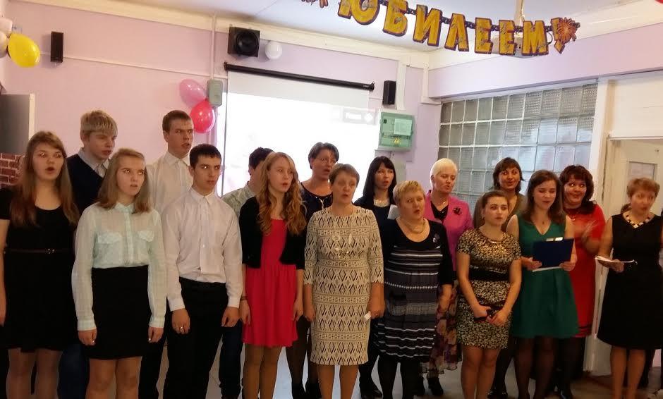 В Рыборецкой школе
