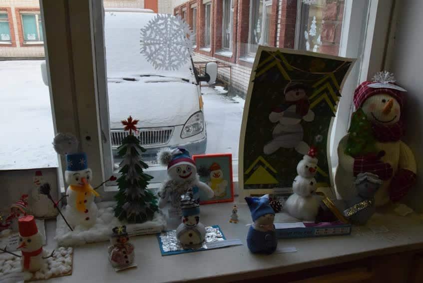 В ожидании Нового года. Поделки воспитанников. Фото Марии Голубевой