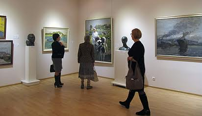 """""""Усынови картину"""" в Музее изобразительных искусств Карелии"""