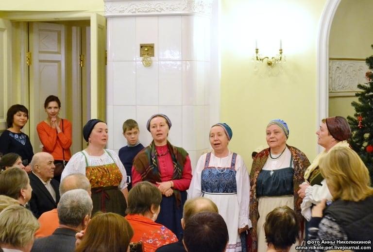 """Ансамбль """"Куделюшка"""" исполнил заонежские песни. Фото Анны Николюкиной"""